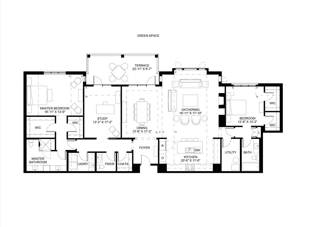 Floor Plan for 3818 Miami Rd, 304 Mariemont, OH 45227