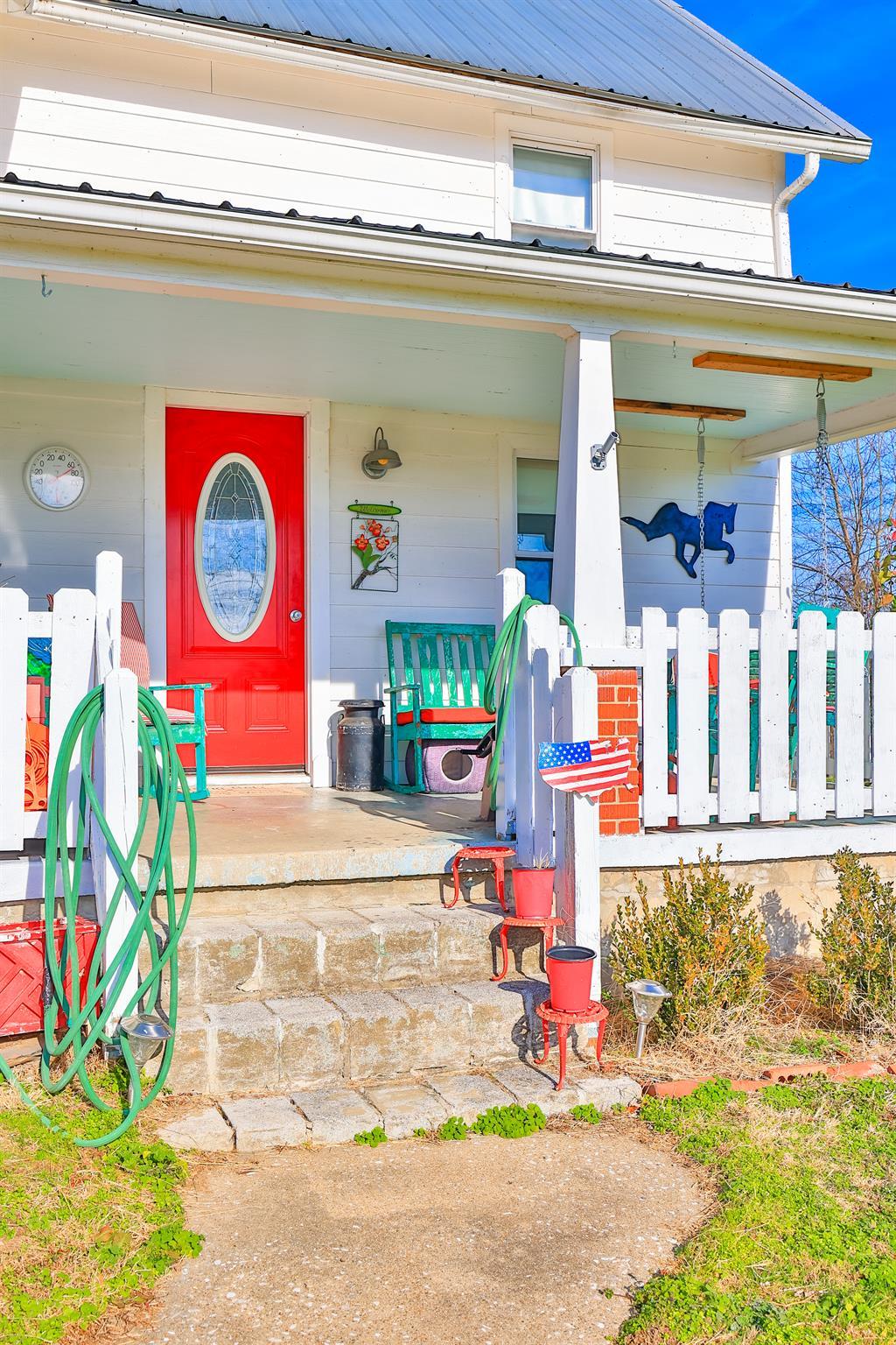 Entrance for 6331 Fike Road Waco, KY 40385