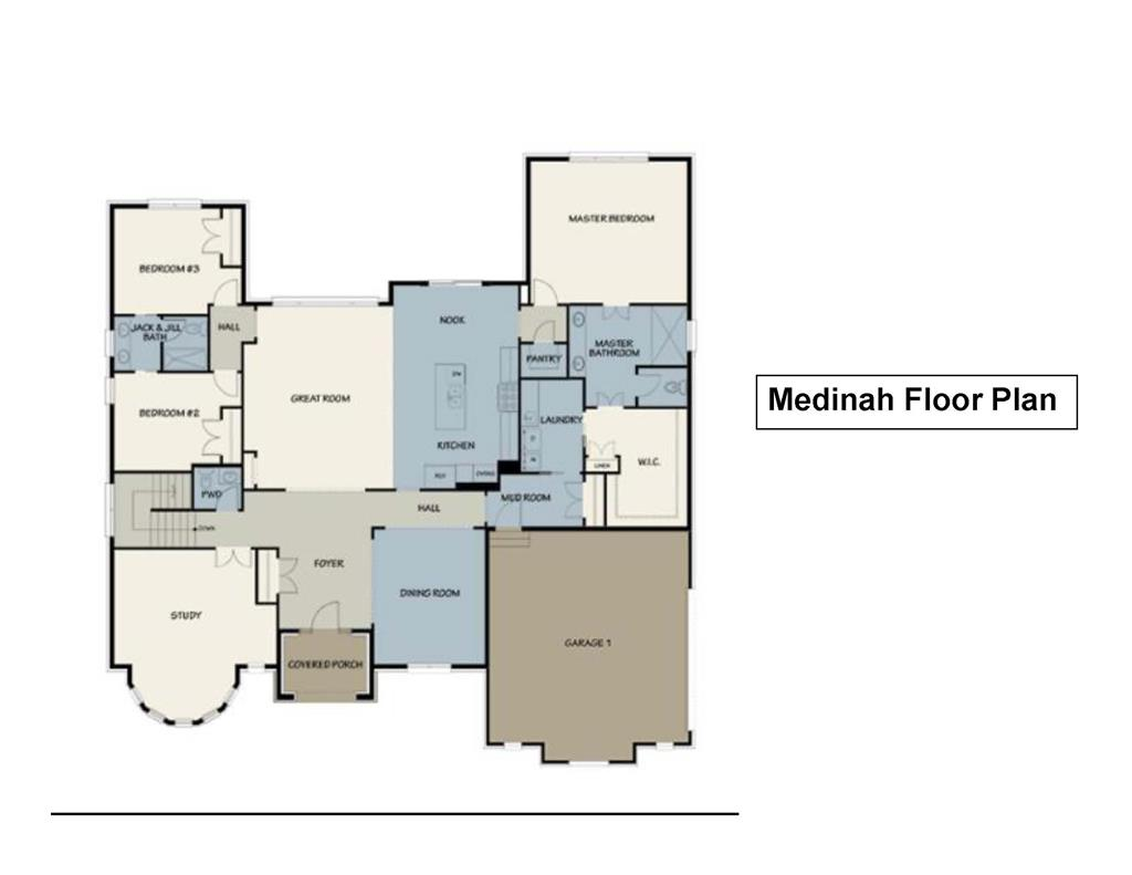 Floor Plan for 18 A Sherilyn Ln Stonelick Twp., OH 45103