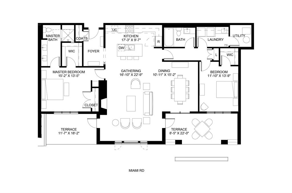 Floor Plan for 3818 Miami Rd, 103 Mariemont, OH 45227