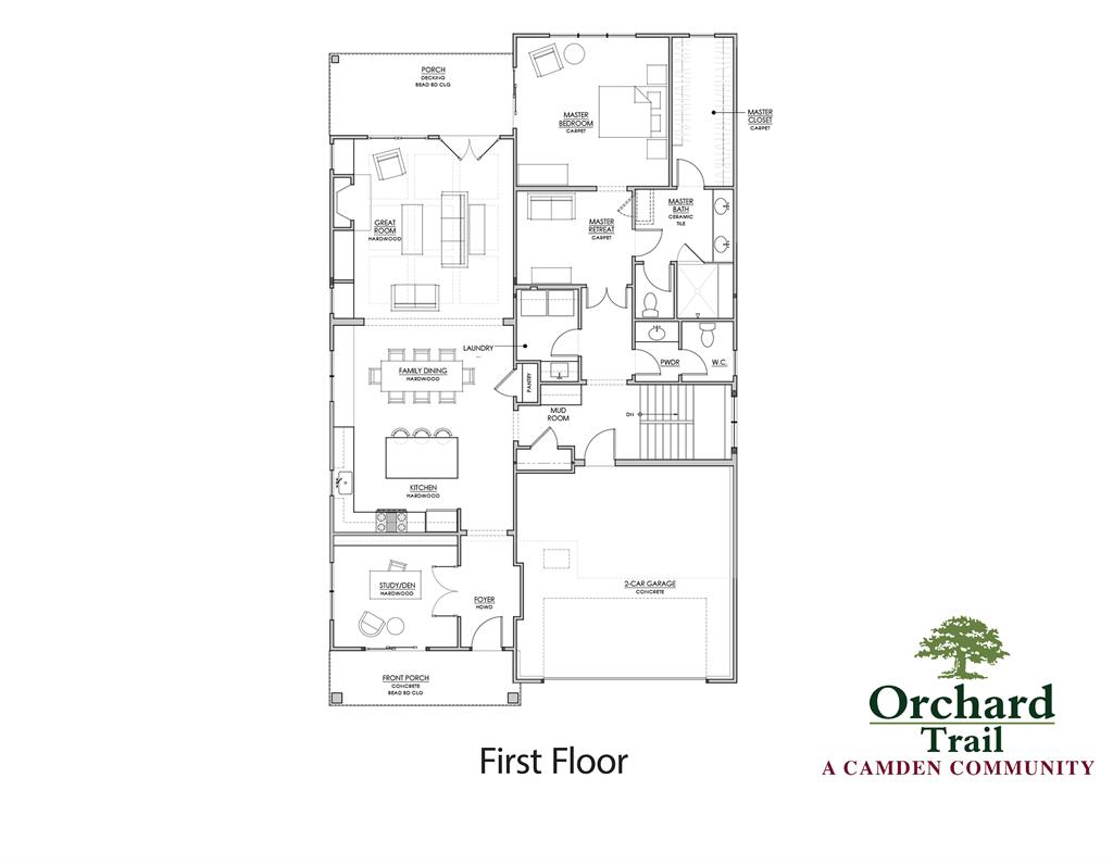 Floor Plan for 2 Orchard Trail Dr Montgomery, OH 45242