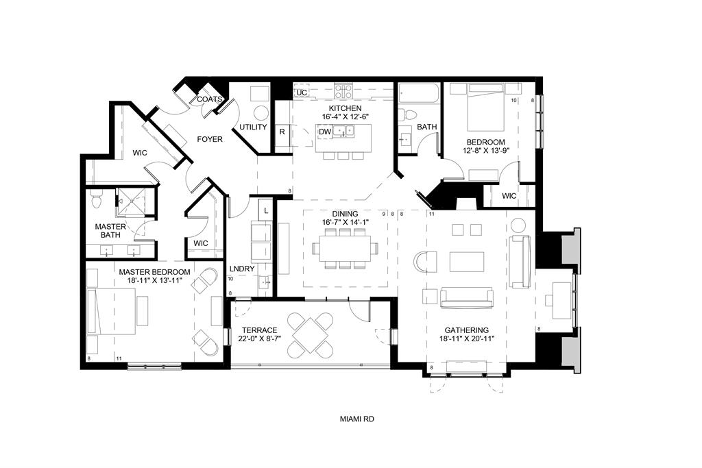 Floor Plan for 3818 Miami Rd, 305 Mariemont, OH 45227