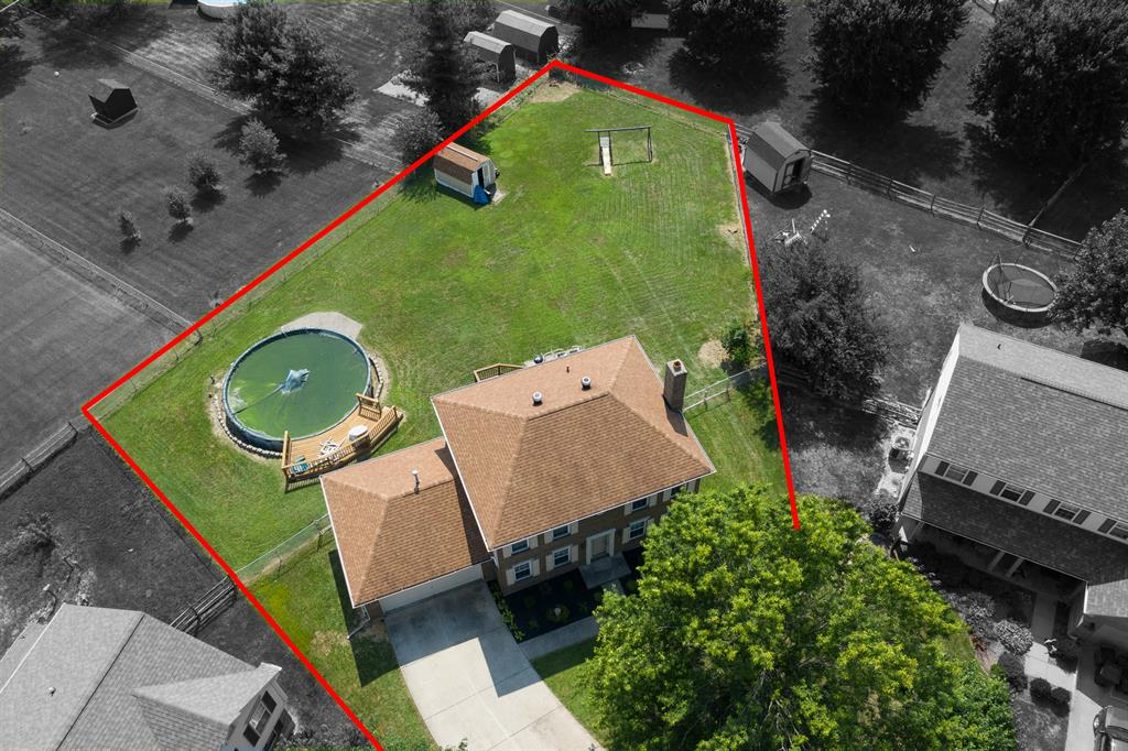 Aerial Photo for 6555 Blossomwood Ct Florence, KY 41042