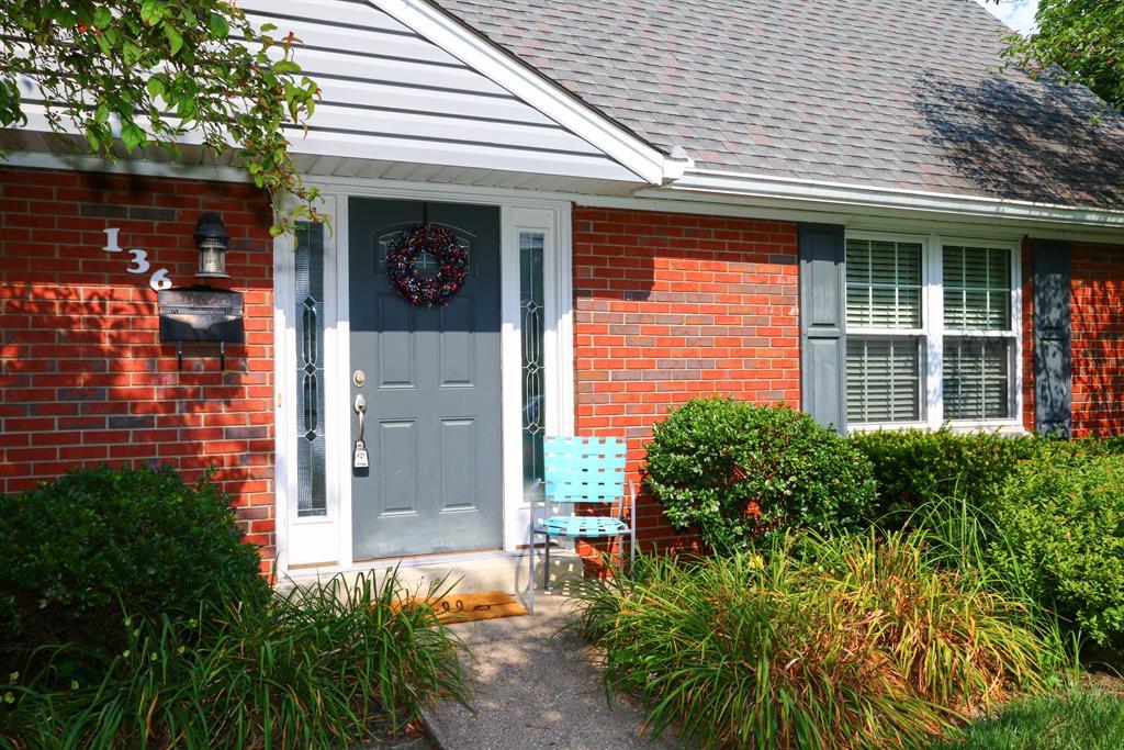 Entrance for 136 Laurel Ave Milford, OH 45150