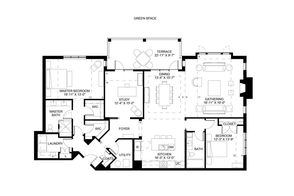 Floor Plan for 3818 Miami Rd, 306 Mariemont, OH 45227