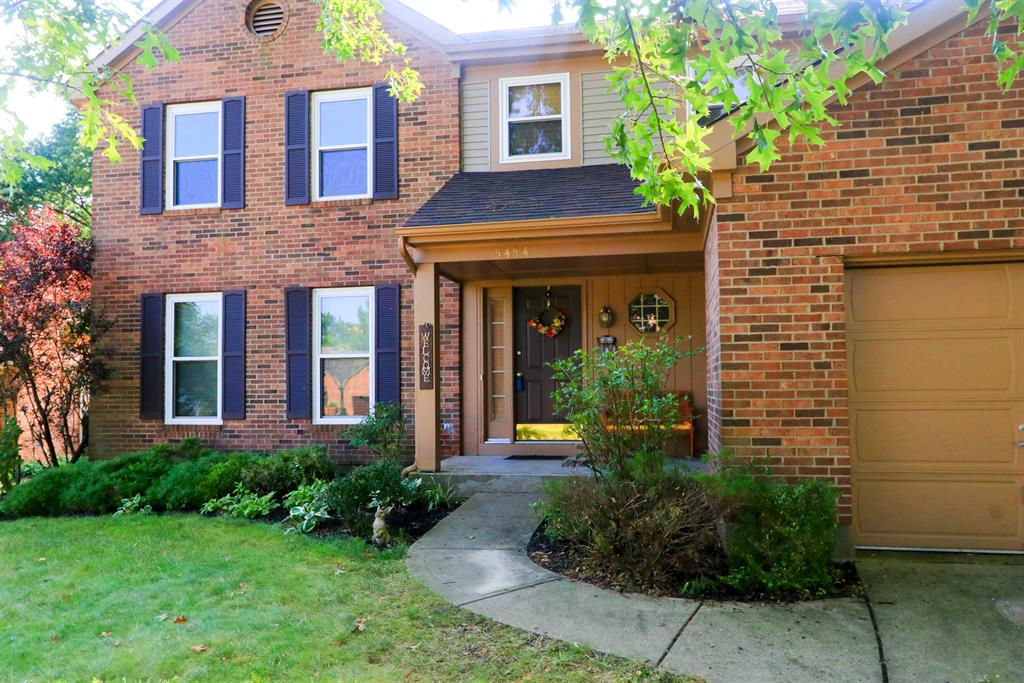 Entrance for 5454 Whitmore Dr Delhi Twp., OH 45238