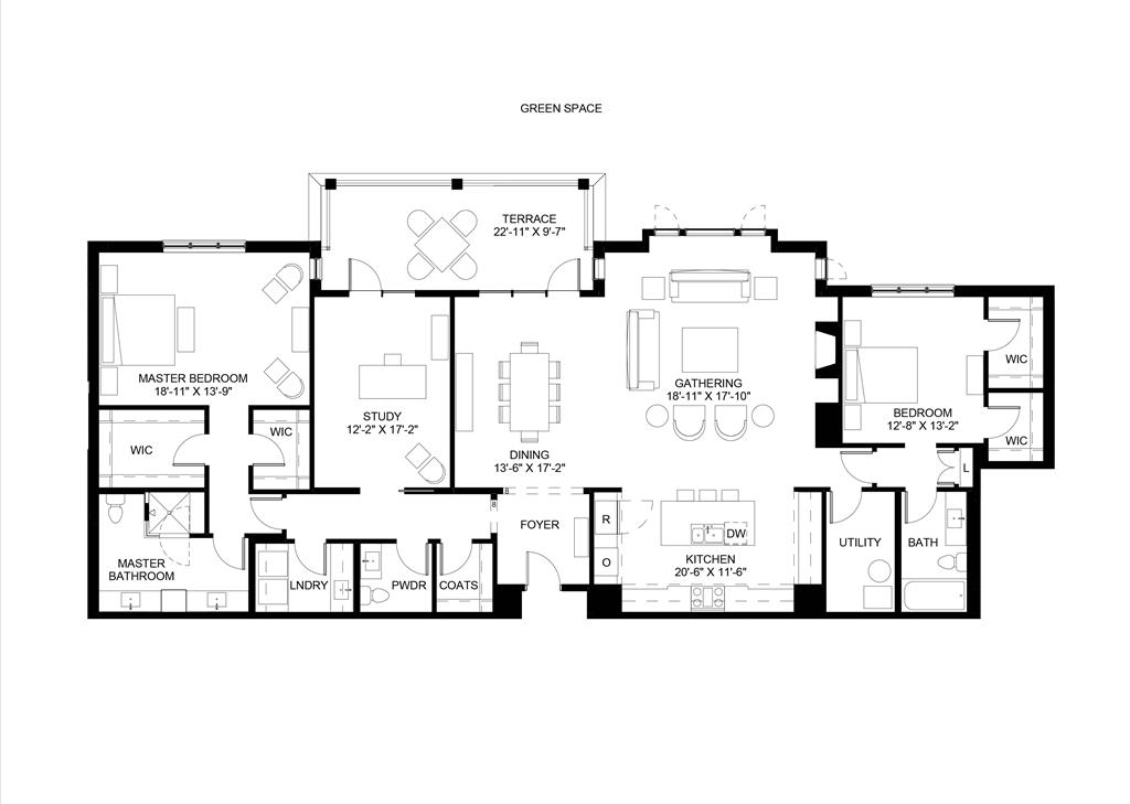Floor Plan for 3818 Miami Rd, 204 Mariemont, OH 45227