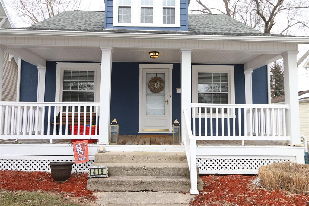 Entrance for 419 W Walnut St Tipp City, OH 45371