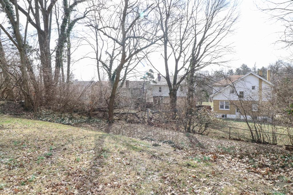 Yard for 4363 Ridgeview Ave Price Hill, OH 45238