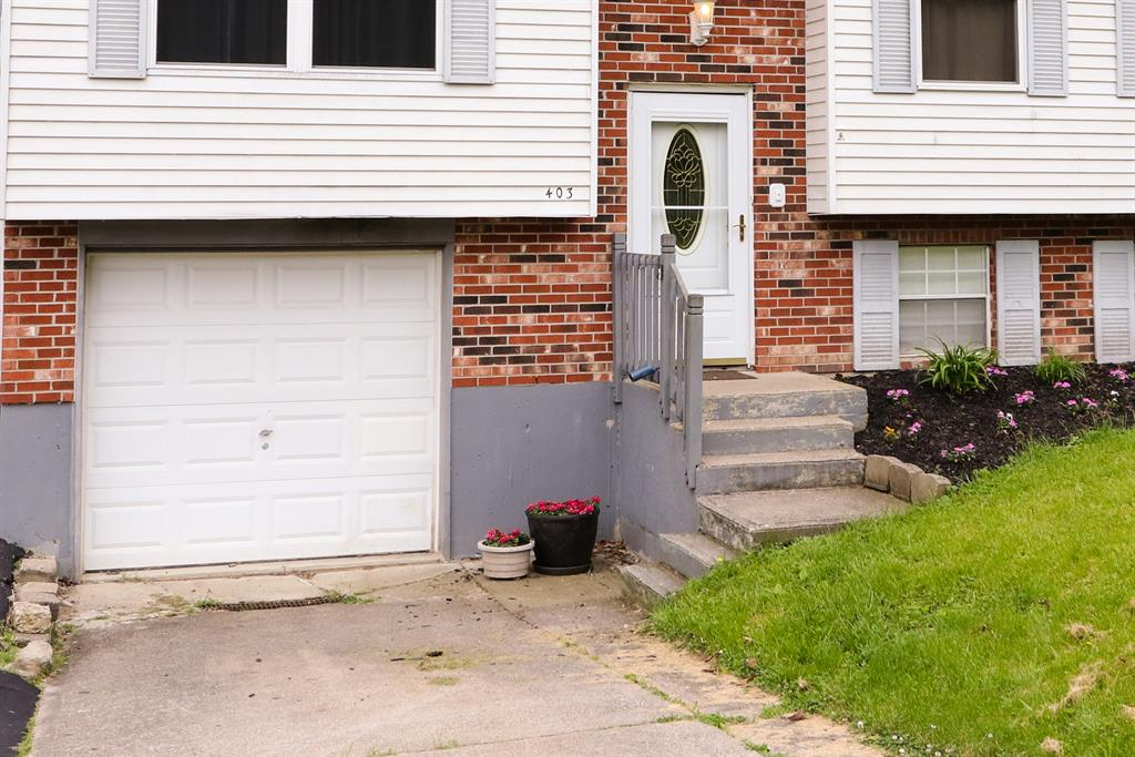 Entrance for 403 Mt. Nebo Rd Cleves, OH 45002