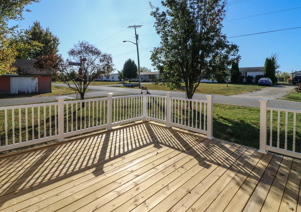 Deck 2 for 545 Glasgow St Osgood, IN 47037