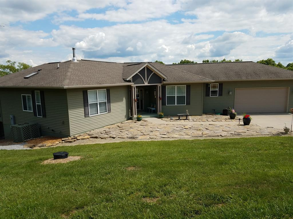 Exterior (Main) for 160 Hawk View Ln Owenton, KY 40359